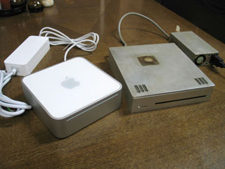 iMacSlimとMac mini